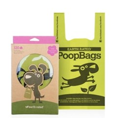 PoopBags 손잡이 배변봉투 120매 (pb)