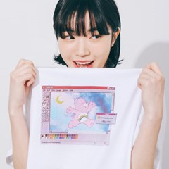 [7/13예약] RONRON WINDOW PRINTING T-SHIRT WHITE