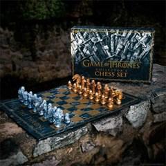 왕좌의게임 정품 굿즈 롱나잇 전투 프리미엄 체스 세트_(2659622)