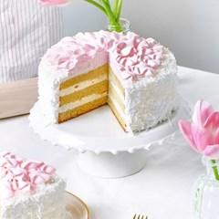 핑크 바나나 코코넛 케이크