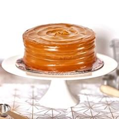 카라멜 케이크