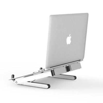 크리에이트 T1 알루미늄 노트북 태블릿 거치대 실버