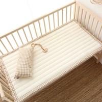 아기 양면 침대패드 베이지 60X120_(1107402)