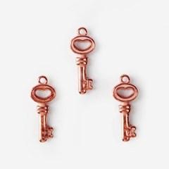 로즈골드 열쇠 펜던트 (5개)