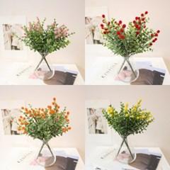 유칼립투스 미모사 열매 인테리어 조화장식(4color)