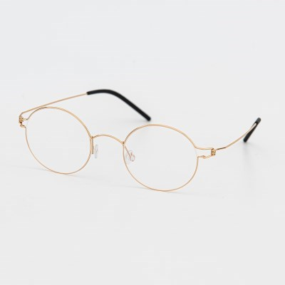 [SBKA]City-C03 금테 동글이 티타늄 안경