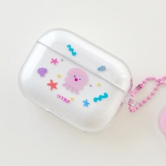 AIRPODS PRO CLEAR CASE - JELLYFISH