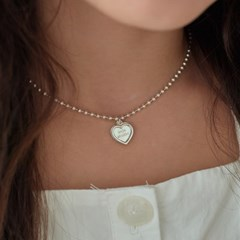 heart ring necklace