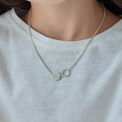 twist ring necklace