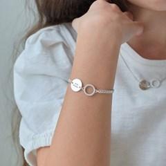 twist ring bracelet