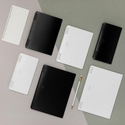 [KINGJIM] TEFRENU bis B5 (26공)_BLACK/WHITE