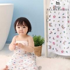 테리파머 토토리_유니콘 우드 양면 아기목욕타올 1장 속싸개