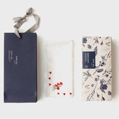 소하동 고방 단짠해요 연강정 + 자수 카네이션 손수건(쇼핑백 포함)