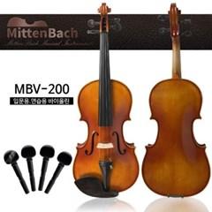 이지펙 교체 미텐바흐 바이올린 MBV-200 수제 연습용 바이올린