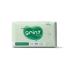 [grin7] 그린세븐 울트라씬 생리대 오버나이트 (8매입)
