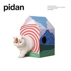 피단스튜디오 고양이 오두막 스크래쳐_(1088136)