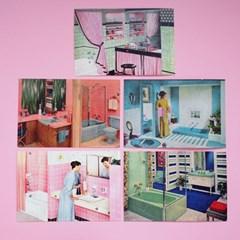 빈티지 엽서 :: bathroom series
