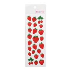 스티커펀 글리터펄 딸기(ZR732)