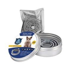 고양이 원통 해충방지 목걸이 - 천연에센셜오일 (pdc)