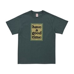 해브어굿타임 밀리터리 프레임 티셔츠 FLGDAS1C42_(1767235)