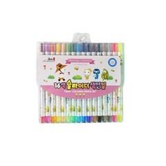 5500 16색슬라이더색연필(FR)-핑크