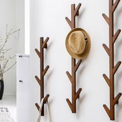 벽 인테리어 나무 옷걸이_(141819)