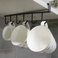 진주리빙 간편 주방 수납 클립형 컵걸이_(374196)