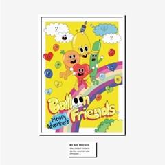 [BFMA] 벌룬프렌즈 에피소드 포스터(A3, A4) - 우리는 친구