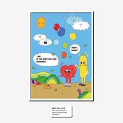 [BFMA] 벌룬프렌즈 에피소드 포스터(A3, A4) - 풍선이 자라고 있어
