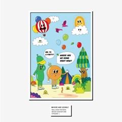 [BFMA] 벌룬프렌즈 에피소드 포스터(A3, A4) - 우리 지금 어디가?