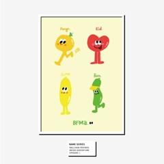 [BFMA] 벌룬프렌즈 에피소드 포스터(A3, A4) - 네임시리즈