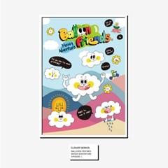 [BFMA] 벌룬프렌즈 에피소드 포스터(A3, A4) - 구름친구 클로디