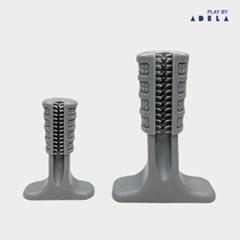ADELA 티팅 브러쉬 장난감 -그레이 S (sj)