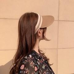 지사 헬렌 썬캡 여자 커플 밀짚 유아동 모자