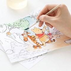 [디즈니] 컬러링 엽서 세트
