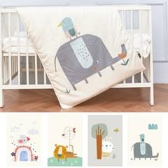 캥거루루 어린이집 프로모달 낮잠이불세트 베이비(0~4세)