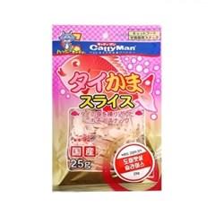 Japan Catty Man 캐티맨 도미맛살 슬라이스 25g (bn)