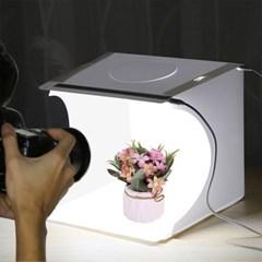 LED 셀프 사진 포토박스/쇼핑몰 스튜디오 배경지증정
