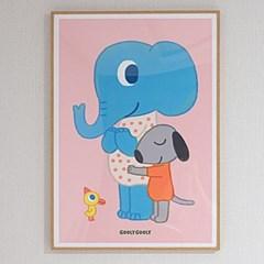 굴리굴리 포스터 / BIG HUG (041)