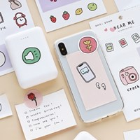 [cardlover] as cute as I am sticker 4종