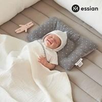 에시앙 신생아 태열케어 짱구베개 (그레이)_(944582)