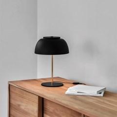 루미르R 테이블램프 스틸 블랙(LED 스틸 소재 무드등 /_(111600)