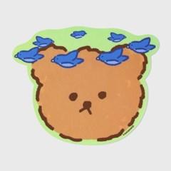 Blue bird bear(마우스패드)_(1557047)