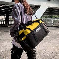 썬텍 옐로우 여행가방 보스턴백 스포츠가방 더플백