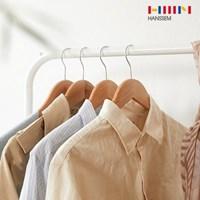 [한샘] 튼튼한 원목옷걸이 30P_(988097)
