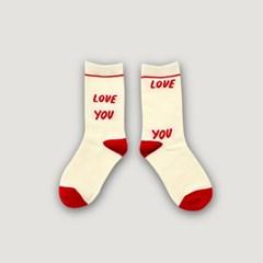 Kids Socks - Love You