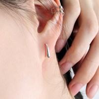 (92.5 silver) mini water hoop earring
