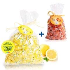 포지타노 캔디 레몬1kg+오렌지500g