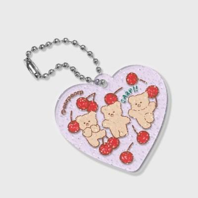 cherry nini(글리터키링-퍼플)