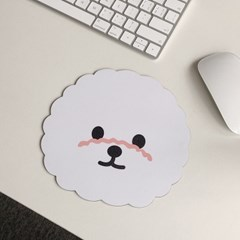 귀여운 강아지 마우스패드